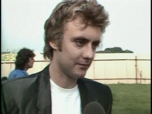 Queen on fire, backstage interview, screenshot 1