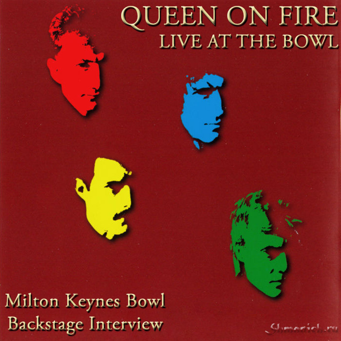Queen on fire, Milton Keynes Bowl, interview