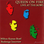 Queen on fire, Milton Keynes Bowl, backstage interview, thumb