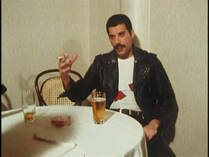 Queen on fire, Freddie Mercury, interview, screenshot 1