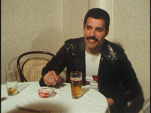 Queen on fire, Freddie Mercury, interview, screenshot 2