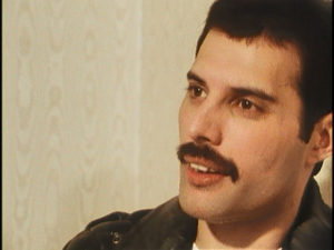 Queen on fire, Freddie Mercury, interview, screenshot 4