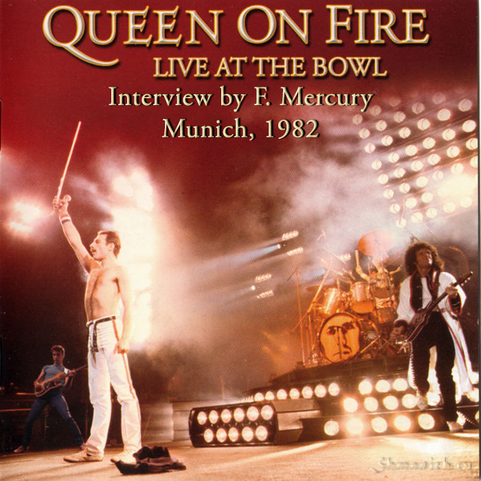 Queen on fire, freddie mercury interview