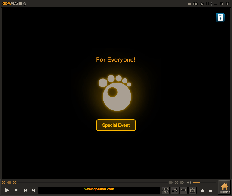 GOM Player, screenshot, apps