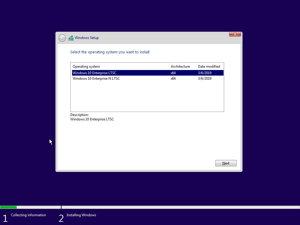 Windows 10 Enterprise LTSC, scrn 08