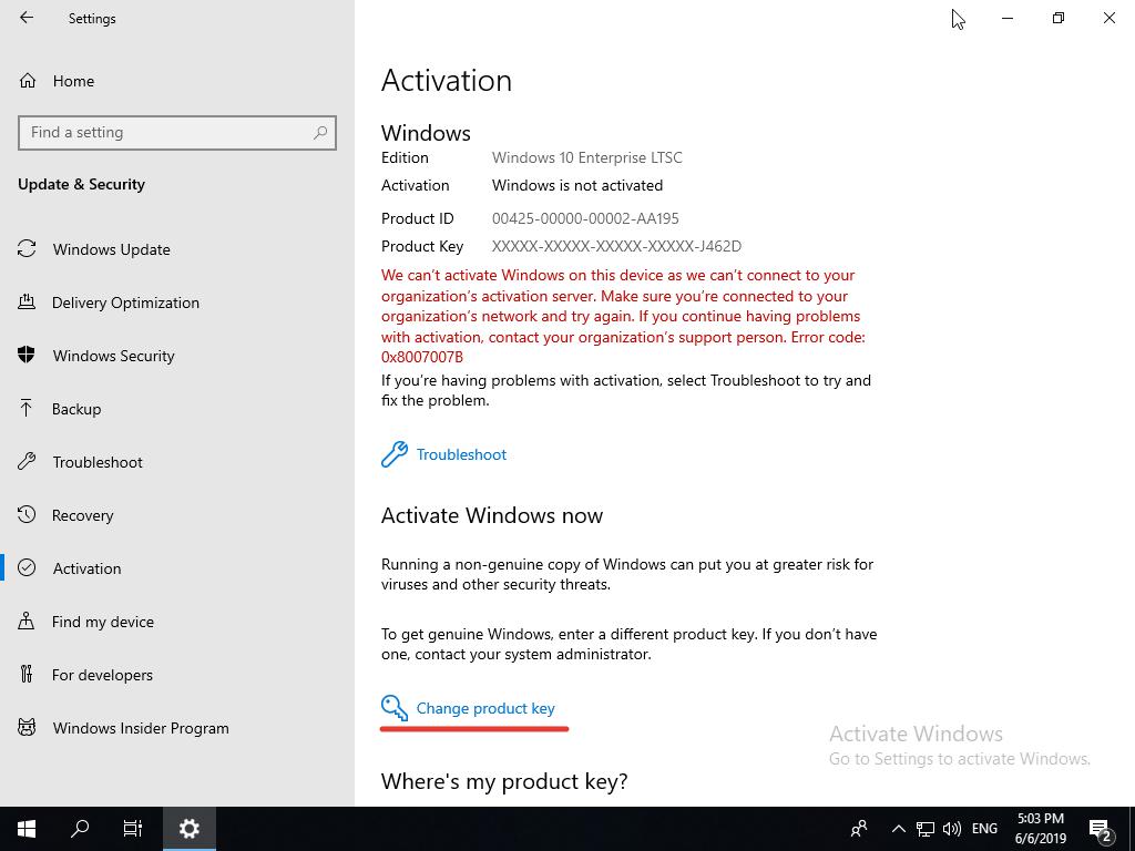 Windows 10 Enterprise LTSC, scrn 34